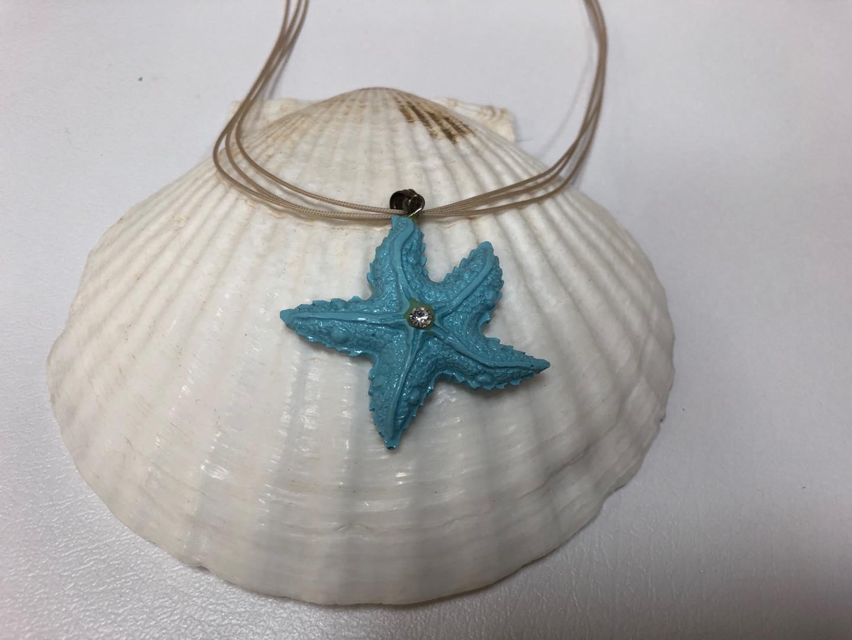 Stella marina in pasta di turchese